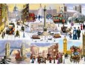 Puzzle Sníh v Londýně