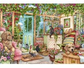 Puzzle Zimní zahrada na venkově