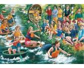 Puzzle Závody na vodě