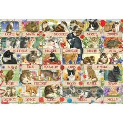 Puzzle Kočičí jubileum