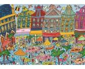 Puzzle Náměstí v Bruselu