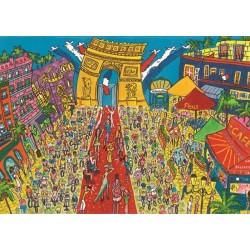 Puzzle Vítězný oblouk v Paříži
