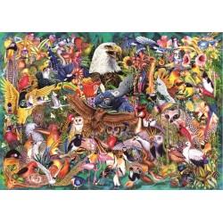 Puzzle Království zvířat