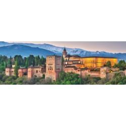 Puzzle Alhambra, Španělsko - PANORAMATICKÉ PUZZLE