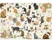 Puzzle Plakát s kočkami