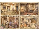 Puzzle Pekárna v 19. století