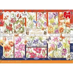 Puzzle Holandské tulipány
