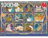 Puzzle Kočičí horoskop