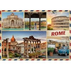 Puzzle Pozdrav z Říma