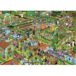 Puzzle Zeleninová zahrada