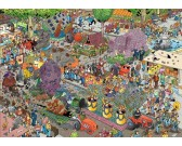 Puzzle Květinová show