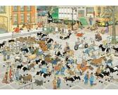 Puzzle Dobytčí trh