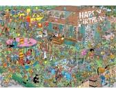 Puzzle Dětská narozeninová oslova