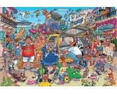 Puzzle Pokažená dovolená - WASGIJ PUZZLE