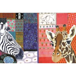 Puzzle Africké umění