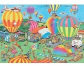 Puzzle Balónová show