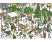 Puzzle Prodej vánočních stromků