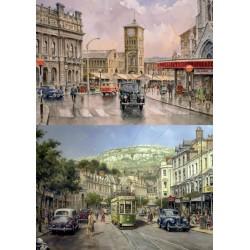 Puzzle Historické ulice