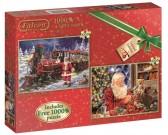 Puzzle Santa Klaus - vše připraveno!