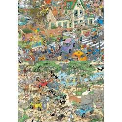 Puzzle Safari a Bouře