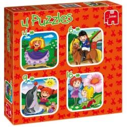Puzzle Dívčí dobrodružství - DĚTSKÉ PUZZLE