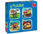 Puzzle Chlapecké dobrodružství - DĚTSKÉ PUZZLE