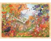Puzzle Podzim v přírodě