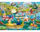 Puzzle Zábava ve vodě