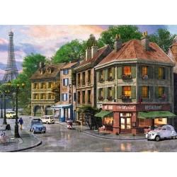 Puzzle Pařížské ulice