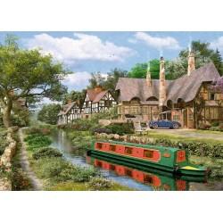 Puzzle Vodní kanál u chatek