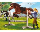 Puzzle Skákající kůň - DĚTSKÉ PUZZLE
