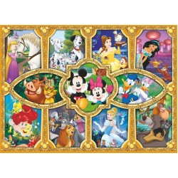 Puzzle Postavičky Disney