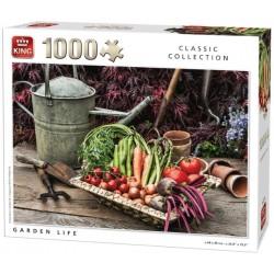 Puzzle Živá zahrada
