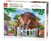 Puzzle Koně u brány