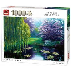 Puzzle Cesta zahradou