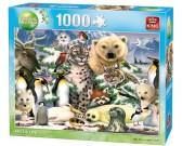 Puzzle Polární zvířata