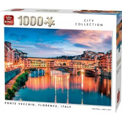 Puzzle Ponte Vecchio, Florencie