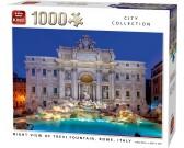 Puzzle Fontána di Trevi v noci