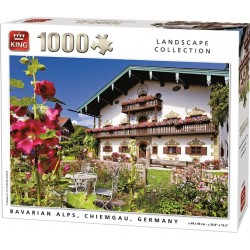Puzzle Bavorské Alpy