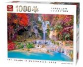 Puzzle Vodopády Tat Kuang Si, Laos