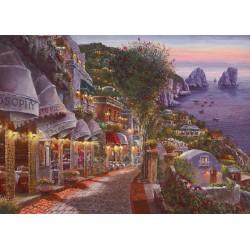 Puzzle Večer na Capri