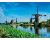 Puzzle Větrné mlýny