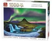 Puzzle Polární záře, Island