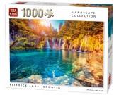 Puzzle Plitvická jezera, Chorvatsko