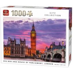 Puzzle Big Ben s parlamentem