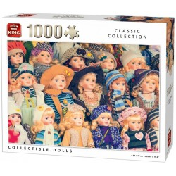 Puzzle Kolekce panenek