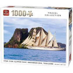 Puzzle Plachetnice, Thajsko