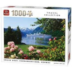 Puzzle Hardangerfjord, Norsko