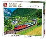 Puzzle Gotthardský průsmyk