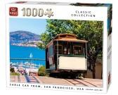 Puzzle Tramvaj, San Francisco